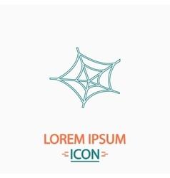 Spiderweb computer symbol vector