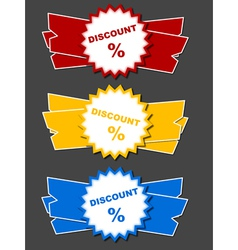 Discount offer vector