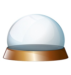 An empty dome vector