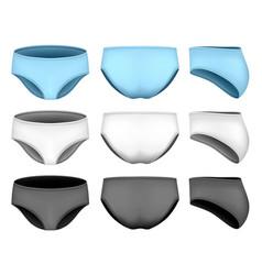 Netball briefs for bodysuit vector