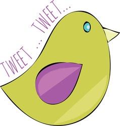 Tweet tweet vector