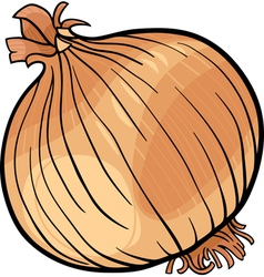 Onion vegetable cartoon vector