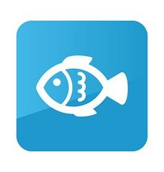 Fish flat icon animal vector