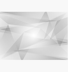 abstract geometric gray and white color vector image vector image