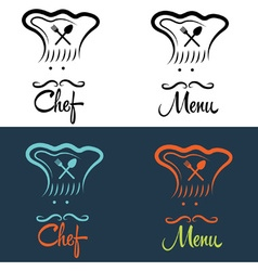 chefs set vector image vector image