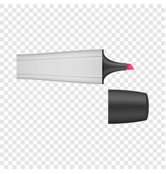 One marker icon realistic style vector