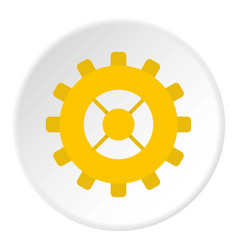 Repair detail icon circle vector
