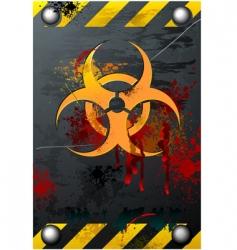biohazard sign vector image