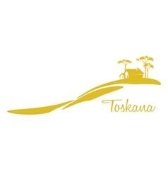 Toskana vector image