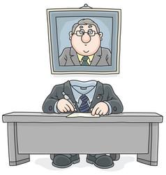 Bureaucrat vector