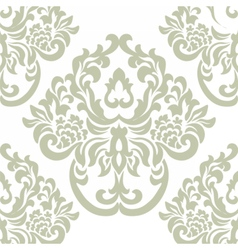 Damask royal ornament pattern vector