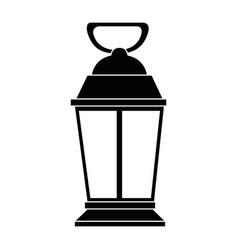 mine lantern isolated icon vector image
