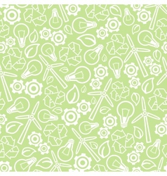 Seamless ecology background vector