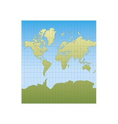 New mercator vector