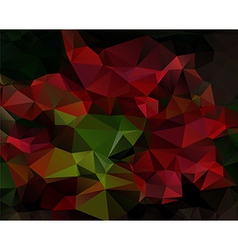 Abstract background poligonal triangles vector image