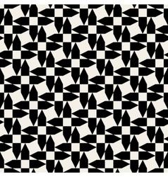 Seamless Arrow Shape Geometric Pattern vector image