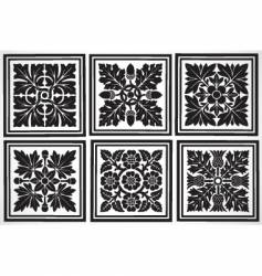 tiles vector image vector image
