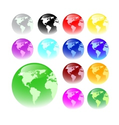 Web buttons - global concept vector