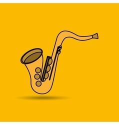 Musical instrument design vector