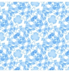 Abstract soft blue geometric rectangle seamless vector
