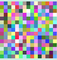 abstract square tile mosaic background vector image vector image