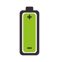 battery complete charge energy vector image