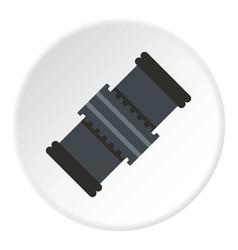 Mechanic belt icon circle vector
