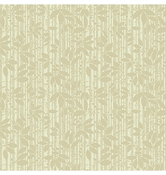 Beige plant silhouette stripes vector
