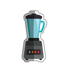 blender machine household appliance vector image vector image