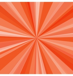 Orange rays background for your bright beams vector image vector image