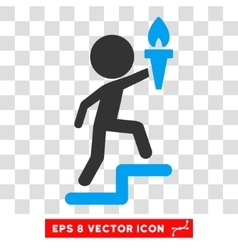 Child leader eps icon vector