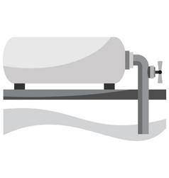 Gas storage tank vector