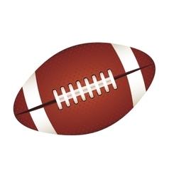 American football ball icon image vector