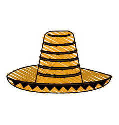 Mexican hat vector