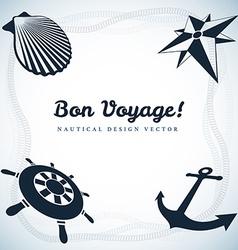 Nautical design vector