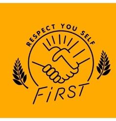 Respect you vector