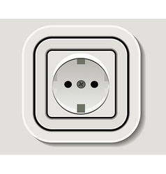 Electrical outlet vector
