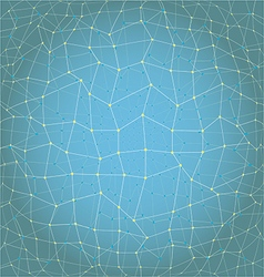 Abstract background geometry lines and points vector image vector image