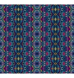 Abstract ethnic tribal pattern vector image