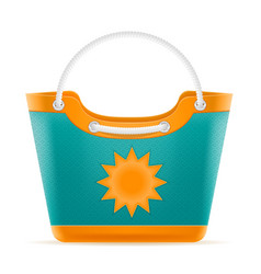 beach bag for women stock vector image vector image