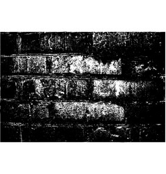 grunge retro texture of the brick wall vector image vector image