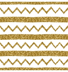 Seamless Chevron and Stripes Pattern vector image vector image