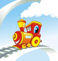 Train smile vector