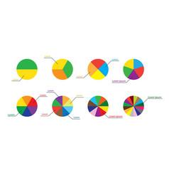 diagrams and infographics - visual representations vector image