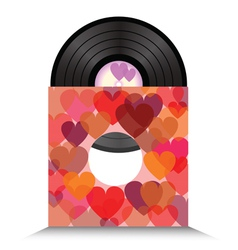 Heart vinil vector