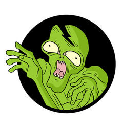icon monster vector image vector image