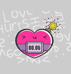 Love hurt vector