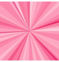 Pink rays background for your bright beams design vector