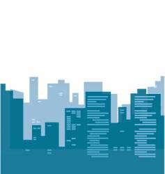urban buildings vector image