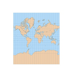 Mercator vector